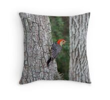Mr Red Head Throw Pillow