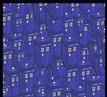 Infinite Tardis by wolfkerri