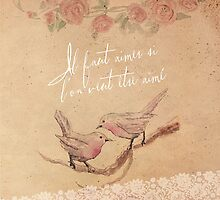 Love Birds & Lace by Paperbark