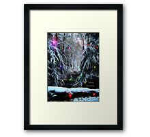Christmas Light 3 Framed Print