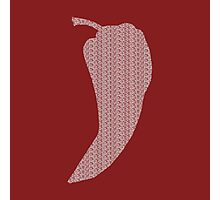 Chili Pepper Subliminal Messaging Photographic Print