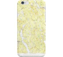 Maine USGS Historical Map Norway 460690 1946 62500 iPhone Case/Skin
