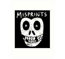 Misprints Art Print