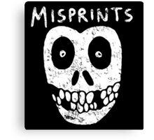 Misprints Canvas Print