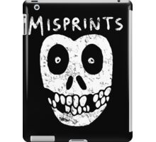 Misprints iPad Case/Skin
