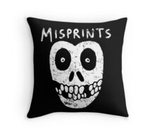 Misprints Throw Pillow