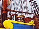 Ship's Rigging 3 by Tamara Valjean