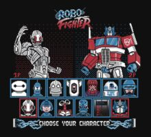 Robo Fighter shirt mug pillow iPhone 6 case leggings Kids Clothes
