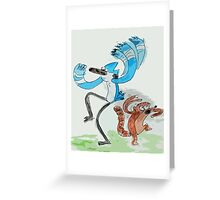 'OOOOOOOHH!'  Greeting Card