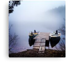 The calmest place on earth Canvas Print