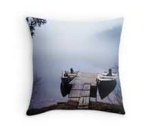 The calmest place on earth Throw Pillow