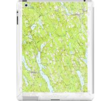 Maine USGS Historical Map Norway 460691 1946 62500 iPad Case/Skin
