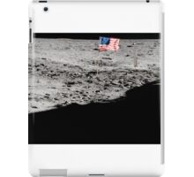 Apollo 11 : Amazing Panoramic Picture Taken on the Moons surface iPad Case/Skin