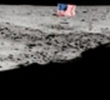 Apollo 11 : Amazing Panoramic Picture Taken on the Moons surface by verypeculiar