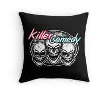 Laughing Skulls: Killer Comedy Throw Pillow