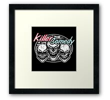 Laughing Skulls: Killer Comedy Framed Print