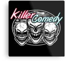 Laughing Skulls: Killer Comedy Metal Print