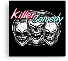 Laughing Skulls: Killer Comedy Canvas Print