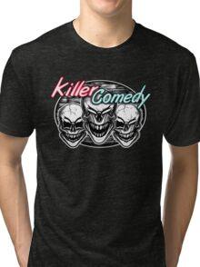 Laughing Skulls: Killer Comedy Tri-blend T-Shirt