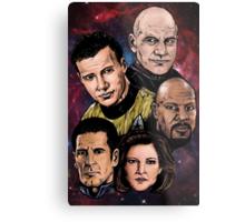 Star Trek Captains Metal Print