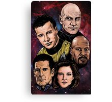 Star Trek Captains Canvas Print