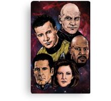 Star Trek Captains Canvas Print