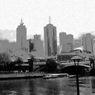 Melbourne Skyline  by Emma  Pettis