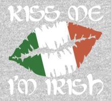 Kiss Me I'm Irish One Piece - Short Sleeve
