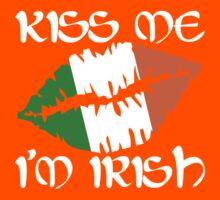 Kiss Me I'm Irish Kids Tee
