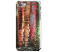 Canoes Reflected in Water iPhone Case/Skin