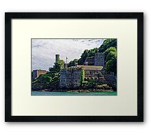 Dartmouth Castle #2, Devon, England Framed Print