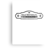 Shelby Brothers LTD. Canvas Print