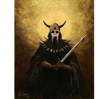 Undead Viking Photographic Print