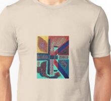 cross inspired labyrinth  Unisex T-Shirt