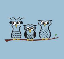 Three Little Owls Kids Tee