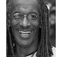 Smile - Portrait in Black and White Photographic Print