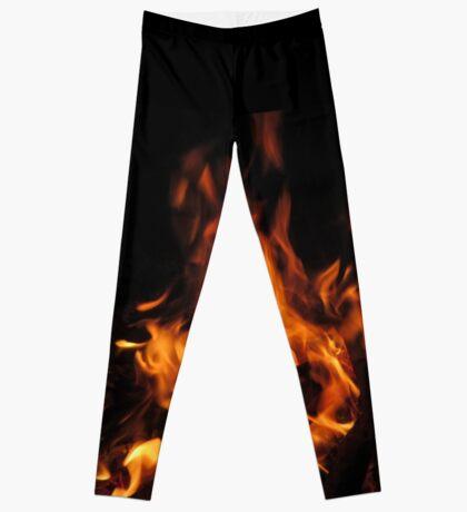Flamin' Hot Leggin's Leggings