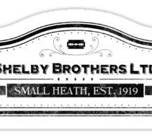 Shelby Brothers LTD. Sticker
