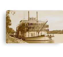 Murray Princess - Mannum - South Australia Metal Print