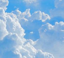 Cloud Heart Sticker