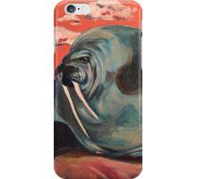 Surreal Walrus Dream  iPhone Case/Skin