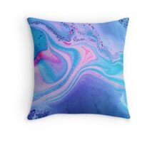 Bath Bomb Throw Pillow