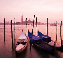 Venetian sunset by Ian Middleton