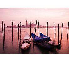Venetian sunset Photographic Print
