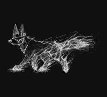 White Melting Dog by CaptainRakeHand