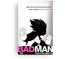 DBZ's BAD MAN Canvas Print