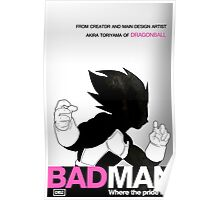 DBZ's BAD MAN Poster
