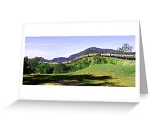 Karanda Train Ride in QLD Greeting Card