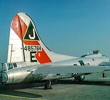 Boeing B-17G Fortress II 44-85784 G-BEDF by Colin Smedley