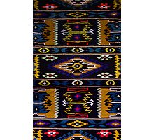 Knitted Rug Photographic Print